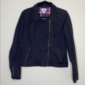 Levi's Jean Motorcycle Style Medium Weight Jacket